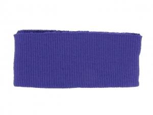 Bord côte ceinture violet