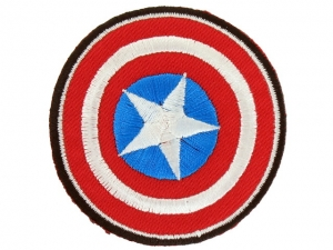 Ecusson Avengers thermocollant CAPTAIN AMERICA