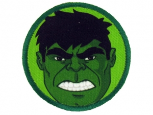 Ecusson Avengers thermocollant HULK