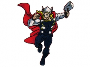 Ecusson Avengers thermocollant THOR