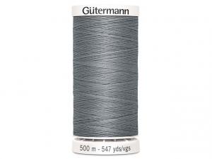 Fil à coudre Gütermann 500m col : 040 gris soutenue