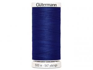 Fil à coudre Gütermann 500m col : 232 bleu foncé