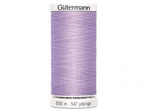 Fil à coudre Gütermann 500m col : 441 mauve
