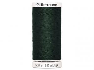 Fil à coudre Gütermann 500m col : 472 vert foncé