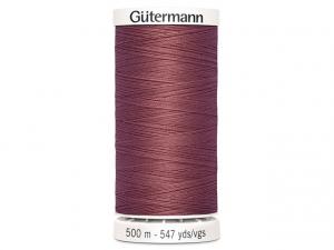 Fil à coudre Gütermann 500m col : 474 lilas foncé