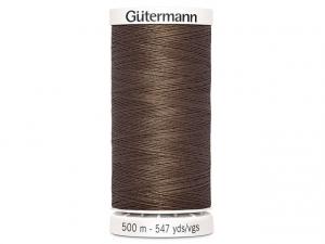 Fil à coudre Gütermann 500m col : 672 marron clair