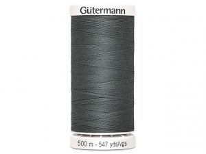 Fil à coudre Gütermann 500m col : 701 anthracite