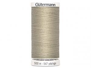 Fil à coudre Gütermann 500m col : 722 naturel