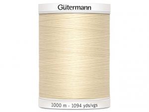 Fil à coudre Gütermann 1000m col : 414 désert