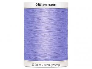 Fil à coudre Gütermann 1000m col : 158 mauve