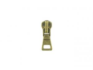 Curseur N°8 pour fermeture métal Bronze