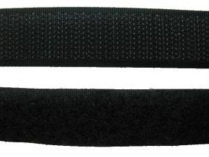 Ruban auto-agrippant 20 mm gris foncé