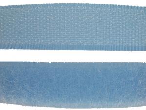 Ruban auto-agrippant 20 mm bleu ciel