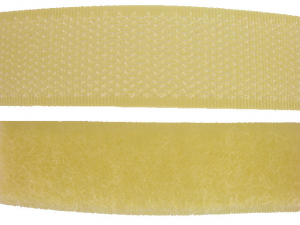 Ruban auto-agrippant 20 mm jaune
