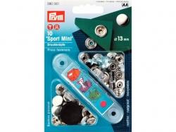 Pression 'sport mini' 13mm chrome