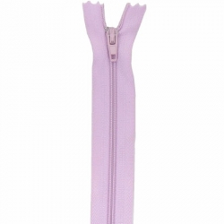Fermeture 18cm Lilas clair