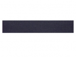 Sergé coton 20 mm marine