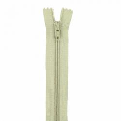 Fermeture 15cm kaki clair