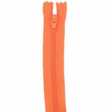 Fermeture 18cm orange