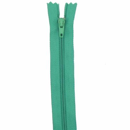 Fermeture 18cm vert sapin