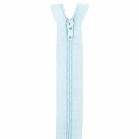 Fermeture 18cm bleu clair