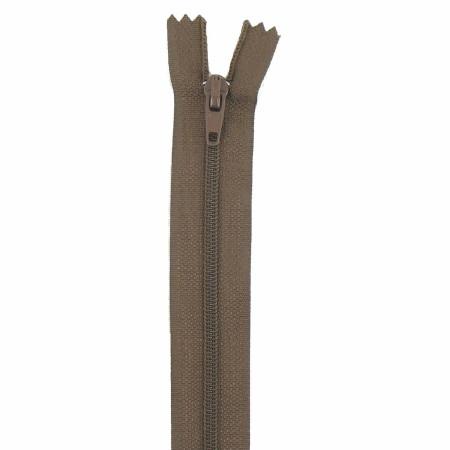 Fermeture 18cm marron