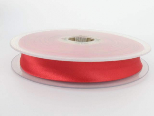 biais satin 20 mm rouge