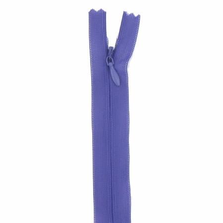 fermeture invisible 40 cm violet