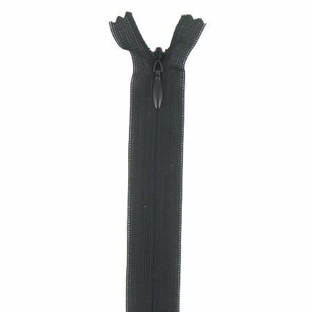 fermeture invisible 60 cm noir