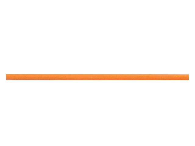 elastique rond 3 mm orange