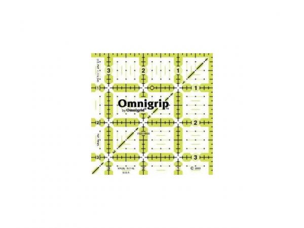 Règle antidérapante omnigrip 3,5 x 3,5 inch