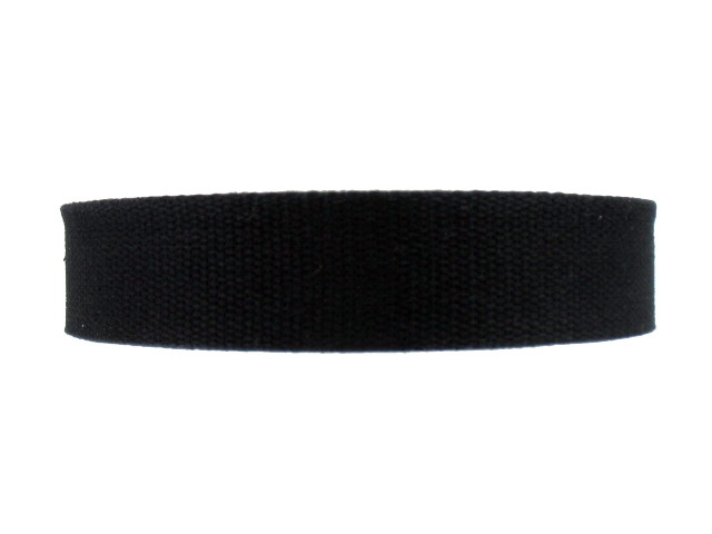 Sangle Coton 23mm noir