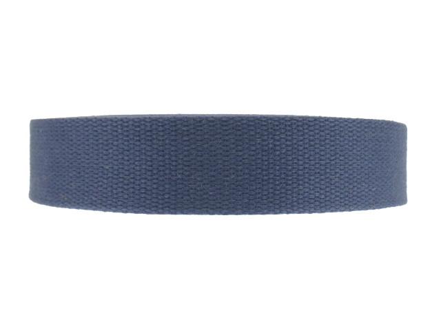 Sangle Coton 23mm bleu marin