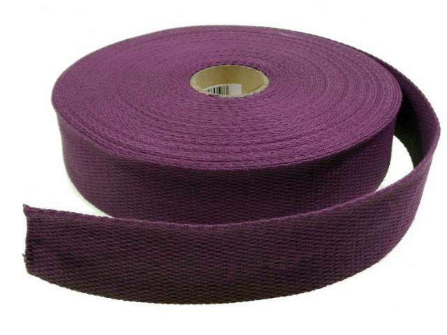 Sangle Coton 30mm violet