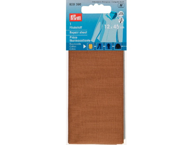 Thermocollant percale Brun Clair