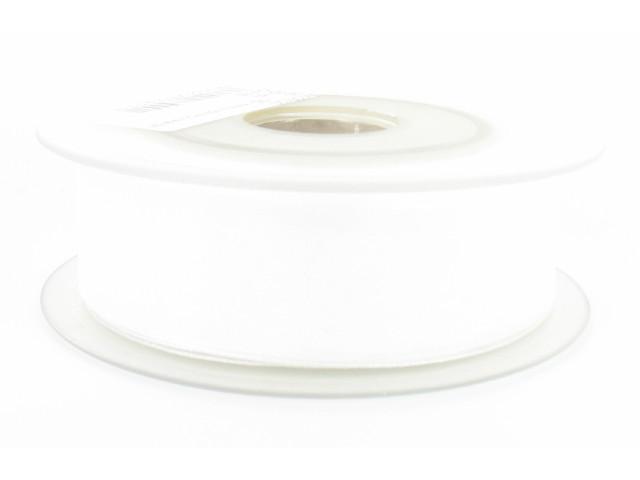 Ruban organdi 25mm blanc