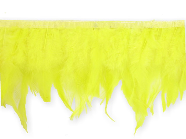 "Galon ""Plume""jaune"