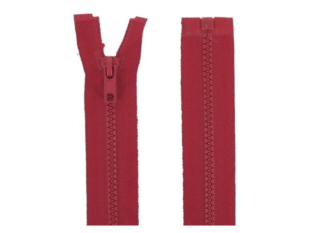 x5 Fermeture séparable rouge foncé