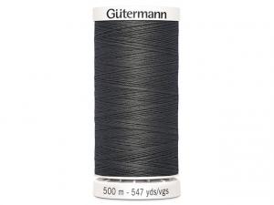 Fil à coudre Gütermann 500m col : 702 gris foncé