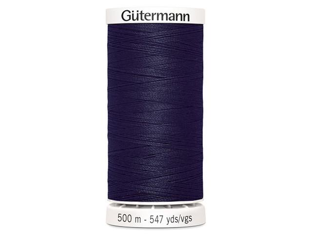 Fil à coudre Gütermann 500m col : 339 marine foncé