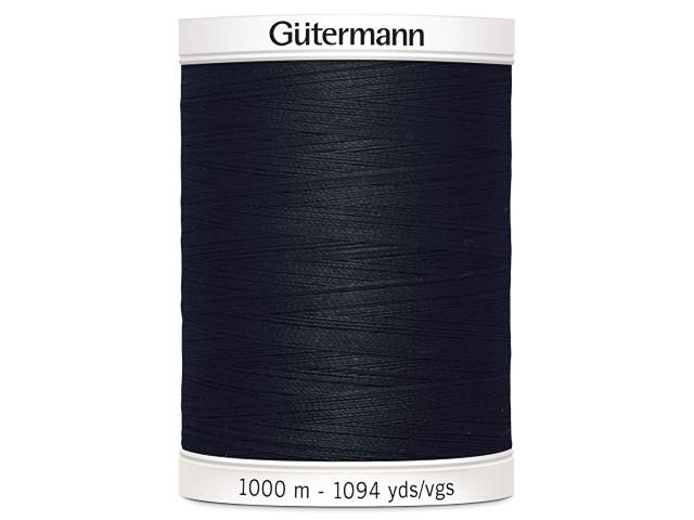 Fil à coudre Gütermann 1000m col : 000 noir
