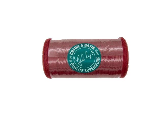 Coton à bâtir rouge