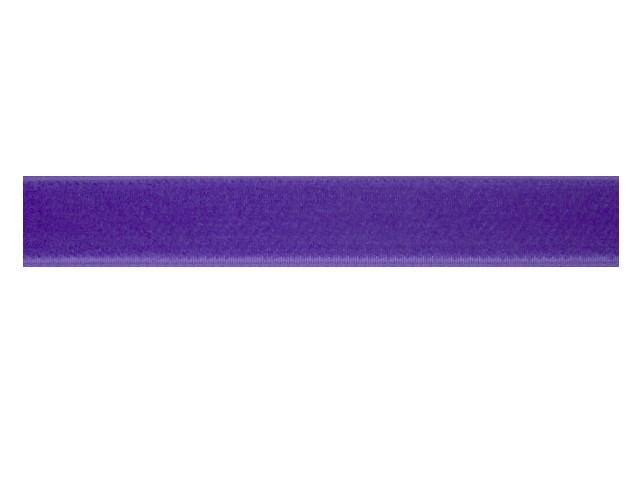 Ruban velours violet
