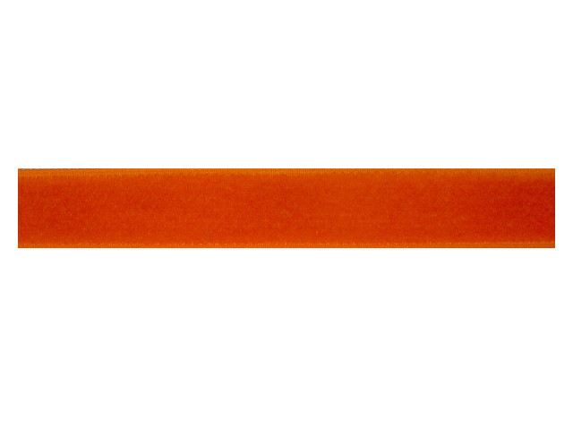 Ruban velours orange