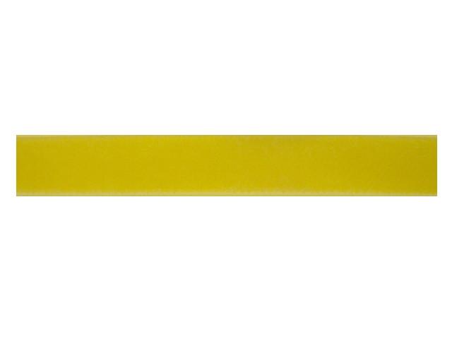 Ruban velours jaune