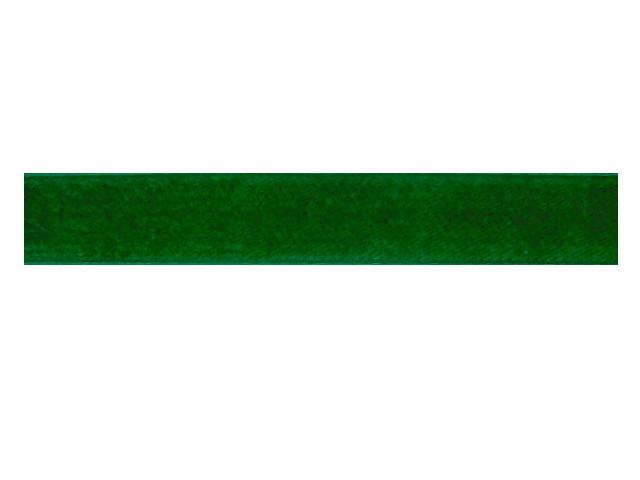 Ruban velours vert