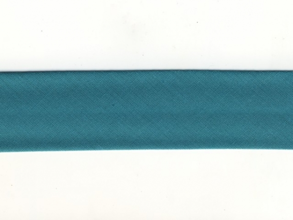 Biais 30 mm turquoise