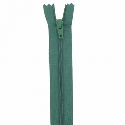 Fermeture 18cm vert foncé
