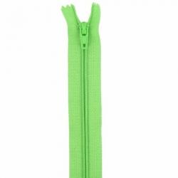 Fermeture 18cm vert pomme