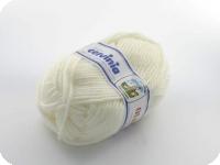 Fil à tricoter Olimpia Blanc